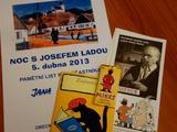 Paměťní list z Noci s Josefem Ladou